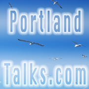 Portland Talks Logo